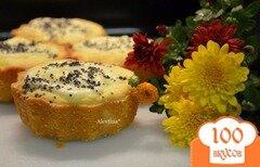 Фото рецепта: «Кексы со сливочным сыром и маком»