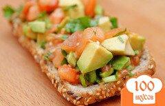 Фото рецепта: «Гуакамоле – мексиканская закуска-салат»
