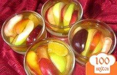 Фото рецепта: «Желе с кусочками фруктов»