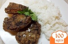 Фото рецепта: «Говяжья печень в яичном кляре»
