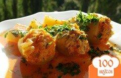 Фото рецепта: «Фаршированный перец с картофелем»
