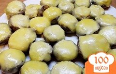 Фото рецепта: «Закуска из фаршированных грибочков»