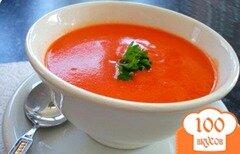 Фото рецепта: «Суп из помидоров для похудения»