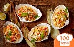 Фото рецепта: «Мексиканский салат с кукурузой»
