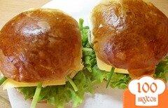 Фото рецепта: «Весенние бургероны с оригинальным соусом»