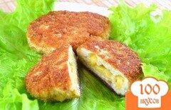 Фото рецепта: «Котлеты из фарша с сыром»