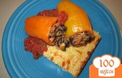 Фото рецепта: «Фаршированные болгарские перцы»