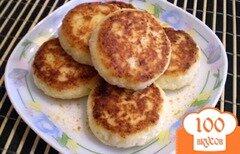 Фото рецепта: «Творожники с апельсиновой цедрой»