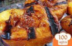 Фото рецепта: «Жареные персики»