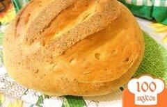 Фото рецепта: «Горчичный хлеб, вымешанный в отрубях»