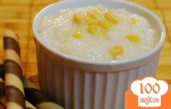 Фото рецепта: «Рисово-кукурузный пудинг»