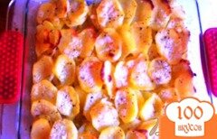 "Фото рецепта: «Картофель «Анна». (Pommes ""Anna)»"