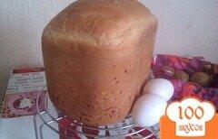 Фото рецепта: «Молочный хлеб на куриных яйцах»