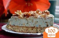 Фото рецепта: «Миндальный хрустящий торт-мороженое»