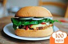 Фото рецепта: «Средиземноморский сэндвич»