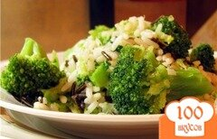 Фото рецепта: «Рис с брокколи»