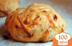 Фото рецепта: «Луковые булочки с розмарином»