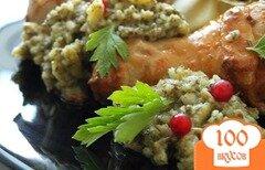 Фото рецепта: «Пикантный соус к мясу из крыжовника»