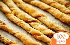 Фото рецепта: «Хлебные палочки с сыром и пряностями»