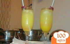 Фото рецепта: «Освежающий коктейль с лимонным ликером»