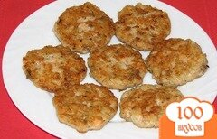 Фото рецепта: «Котлеты из консервированной сайры»