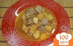 Фото рецепта: «Картошка тушеная со свининой»