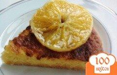 Фото рецепта: «Мега апельсиновый пирог (без муки и масла)»