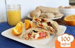 Фото рецепта: «Домашние горячие бутерброды на завтрак»