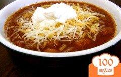 Фото рецепта: «Чили с говядиной и фасолью»