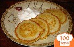 Фото рецепта: «Пышные оладушки без яиц»