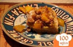 Фото рецепта: «Нежные французские тосты с персиками»