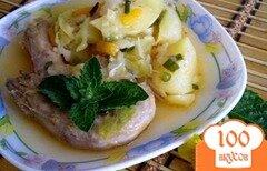 Фото рецепта: «Куриные шейки с овощами»