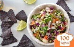 Фото рецепта: «Капустный салат с халапеньо»