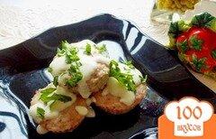 Фото рецепта: «Мясные кексы в сливочно-горчичном соусе»