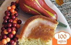 Фото рецепта: «Кукурузный хлеб в медовой глазури»