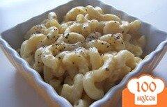 Фото рецепта: «Макароны в сырном соусе с мускатным орехом»