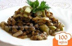 Фото рецепта: «Чечевица с кабачками в мультиварке»