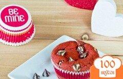 Фото рецепта: «Красные бархатные кексы»