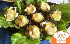Фото рецепта: «Сырные шампиньоны»