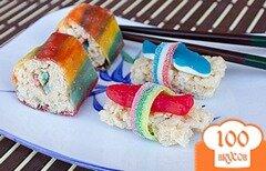 Фото рецепта: «Сладкие суши»