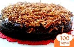 Фото рецепта: «Мега шоколадный торт»