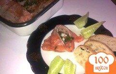 Фото рецепта: «Малосоленая семга с тмином»