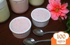 Фото рецепта: «Земляничный йогурт»