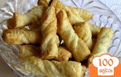 Фото рецепта: «Витое сахарное печенье»