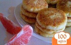 Фото рецепта: «Творожники с грейпфрутом»