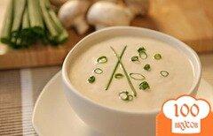 Фото рецепта: «Суп из шампиньонов постный»