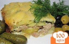 Фото рецепта: «Картофельная запеканка с фаршем (вариант)»