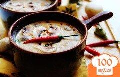Фото рецепта: «Суп из свежих шампиньонов»
