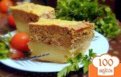 Фото рецепта: «Картофельная запеканка с печёночным суфле.»
