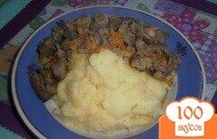 Фото рецепта: «Печень с подливой»